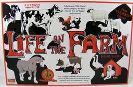 LIFE ON THE FARM BOARD GAME 1996 AWARD WINNING ... - $19.24