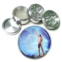 Indian Native American Aluminum Grinder D6 63mm 4 Piece Tribes Tent Wild West - $7.88