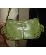 Lime Green Rosetti Handbag Shoulder Bag Matching Change Purse/Mirror    - €8,36 EUR