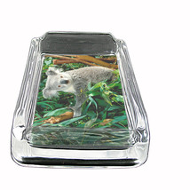 "Koala Glass Ashtray D1 4""x3"" Marsupial Tree Bear Australian Mammal - $9.85"