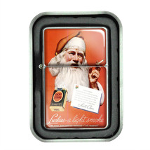 Lucky Strike Oil Lighter With Case Vintage Cigarette Smoking Ad Classic Logo D3 - $12.95