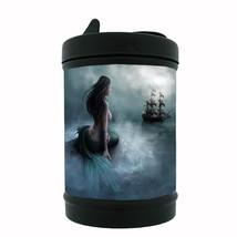 Mermaid Black Metal Car Ashtray D3 Mythological Creature Women of the Sea - $5.89