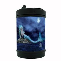 Mermaid Black Metal Car Ashtray D1 Mythological Creature Women of the Sea - $5.89