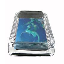 "Mermaid Glass Ashtray D9 4""x3"" Mythological Creature Women of the Sea - $9.85"