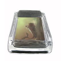 "Mermaid Glass Ashtray D2 4""x3"" Mythological Creature Women of the Sea - $9.85"