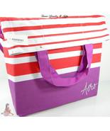 Aero Aeropostale XL Purse Purple Red Hand Bag Crossbody Book School Tote... - $22.75