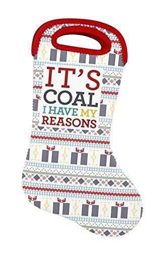 It's Coal. I Have My Reasons. Stocking and Holiday Bag [Kitchen]