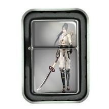 Oil Lighter with Gift Box Ninja D 04 Covert Agent Warrior Spy Assassin Shinobi - $5.89