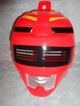 POWER RANGERS RED AND BLACK POWER RANGER HALLOWEEN MASK PVC - $4.90