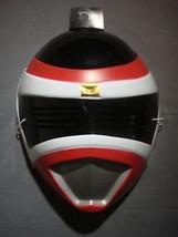 Power Rangers Red Power Ranger Halloween Mask Pvc - $6.88