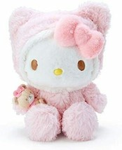 SANRIO Hello Kitty Plush Toy (Fluffy Hood) - $92.06