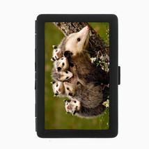 Possum Cigarette Case D3 Metal Wallet Marsupial Night Animal Scavenger Fuzzy - $5.89