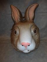 Rabbit Bunny Animal Halloween Mask Pvc - $11.83