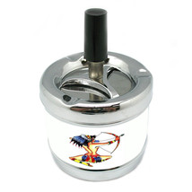 SEXY Native American Tattoo Stylish Designer Spin Ashtray D-472 - $9.89