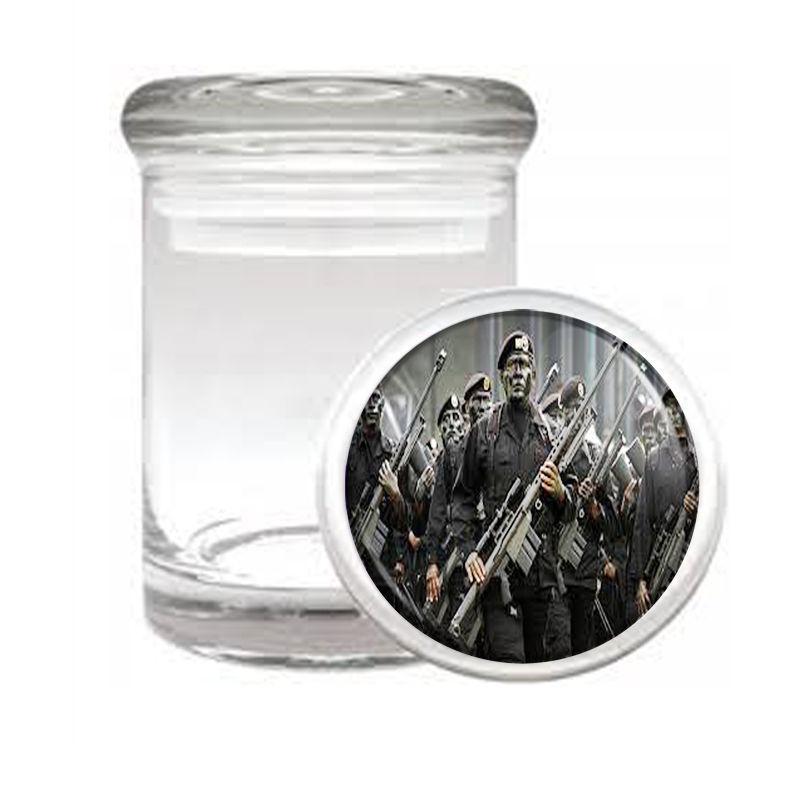 SNIPER D6 ODORLESS AIR TIGHT MEDICAL GLASS JAR CONTAINER MARKSMAN SHARP SHOOTER