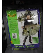 SPOOKY SPRITE COSTUME SIZE 8-10 CHILD COSTUME - $6.88