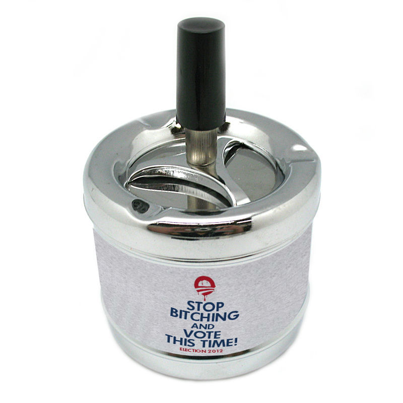 STOP BIT CHING AND VOTE THIS TIME! Stylish Designer Spin Ashtray D-139