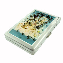 Salvador Dali Galatea Spheres D 72 Cigarette Case Built in Lighter Metal Wallet - $9.85