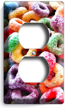 Froot Loops Ring Cereal Electrical Outlet Wall Plate Cover Kitchen Dining Room - $9.99