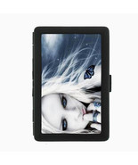 Sexy Gothic Girl D4 Black Cigarette Case / Metal Wallet Goth Rock Black ... - $6.88