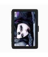Sexy Gothic Girl D5 Black Cigarette Case / Metal Wallet Goth Rock Black ... - $6.88