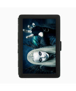 Sexy Gothic Girl D6 Black Cigarette Case / Metal Wallet Goth Rock Black ... - $6.88