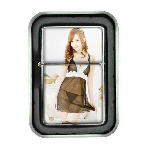 Sexy Women D5 Oil Lighter with Gift Box Lingerie Model Hot Babe Cute Chic