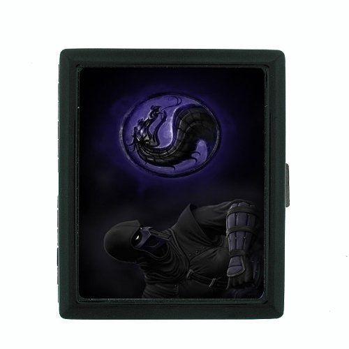 Small Black Cigarette Case Ninja D 09 Covert Agent Warrior Spy Assassin Shinobi