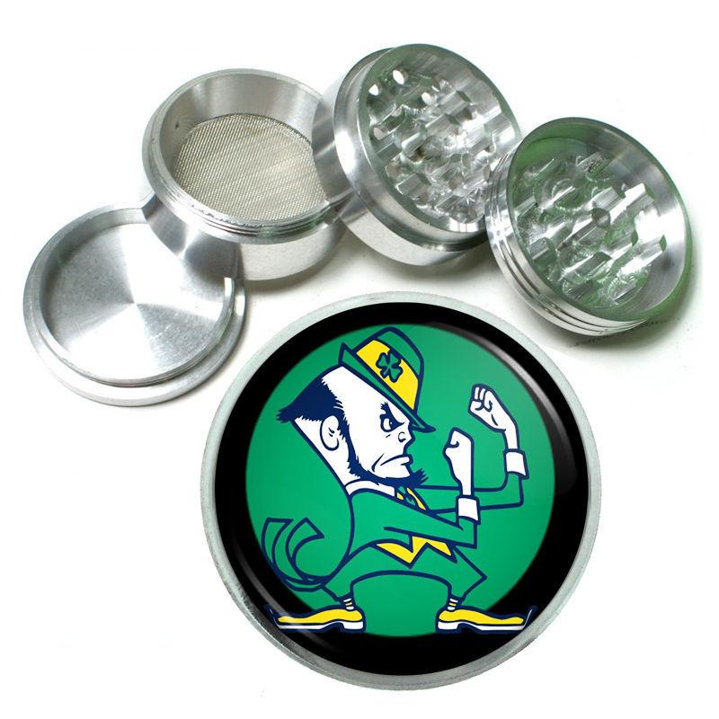 St Patricks Day Aluminum Grinder D5 63mm 4 Piece Irish Ireland Leprechaun Lucky