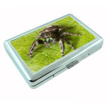 Spiders Metal Silver Cigarette Case D4 Arachnid Insect Black Widow Tarantulas - $5.89