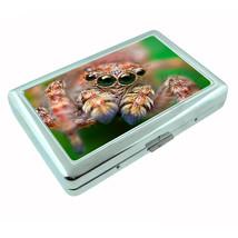 Spiders Metal Silver Cigarette Case D9 Arachnid Insect Black Widow Tarantulas - $5.89