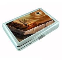 Spiders Metal Silver Cigarette Case D3 Arachnid Insect Black Widow Tarantulas - $5.89
