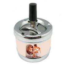 Stylish Designer Spin Ashtray Pin Up Girl Design-079 - $9.89