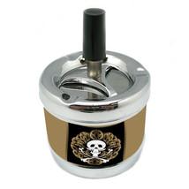 Stylish Designer Spin Ashtray Skull Design-087 - $7.91