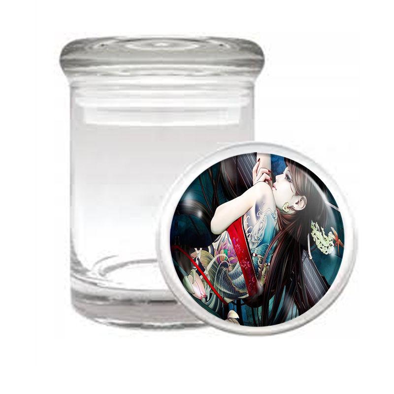 TATTOO D7 ODORLESS AIR TIGHT MEDICAL GLASS JAR CONTAINER SKIN BODY ART INK TAT
