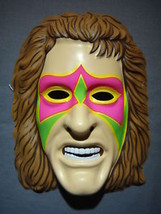 THE ULTIMATE WARRIOR MASK PVC WWE LEGEND WRESTLER MASK - $5.69