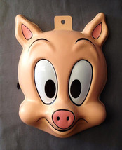 Tiny Toons Adventures Hampton J. Pig  3/4 Teen Size Pvc Mask - $12.95