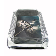 "Tattoo Glass Ashtray D1 4""x3"" Skin Body Art Ink Tat - $7.88"