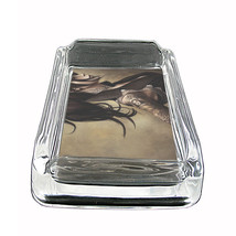 "Tattoo Glass Ashtray D3 4""x3"" Skin Body Art Ink Tat - $7.88"