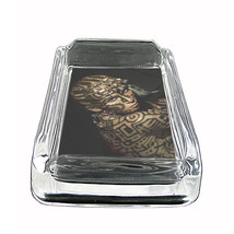 "Tattoo Glass Ashtray D5 4""x3"" Skin Body Art Ink Tat - $7.88"