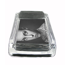 "Tattoo Glass Ashtray D8 4""x3"" Skin Body Art Ink Tat - $7.88"