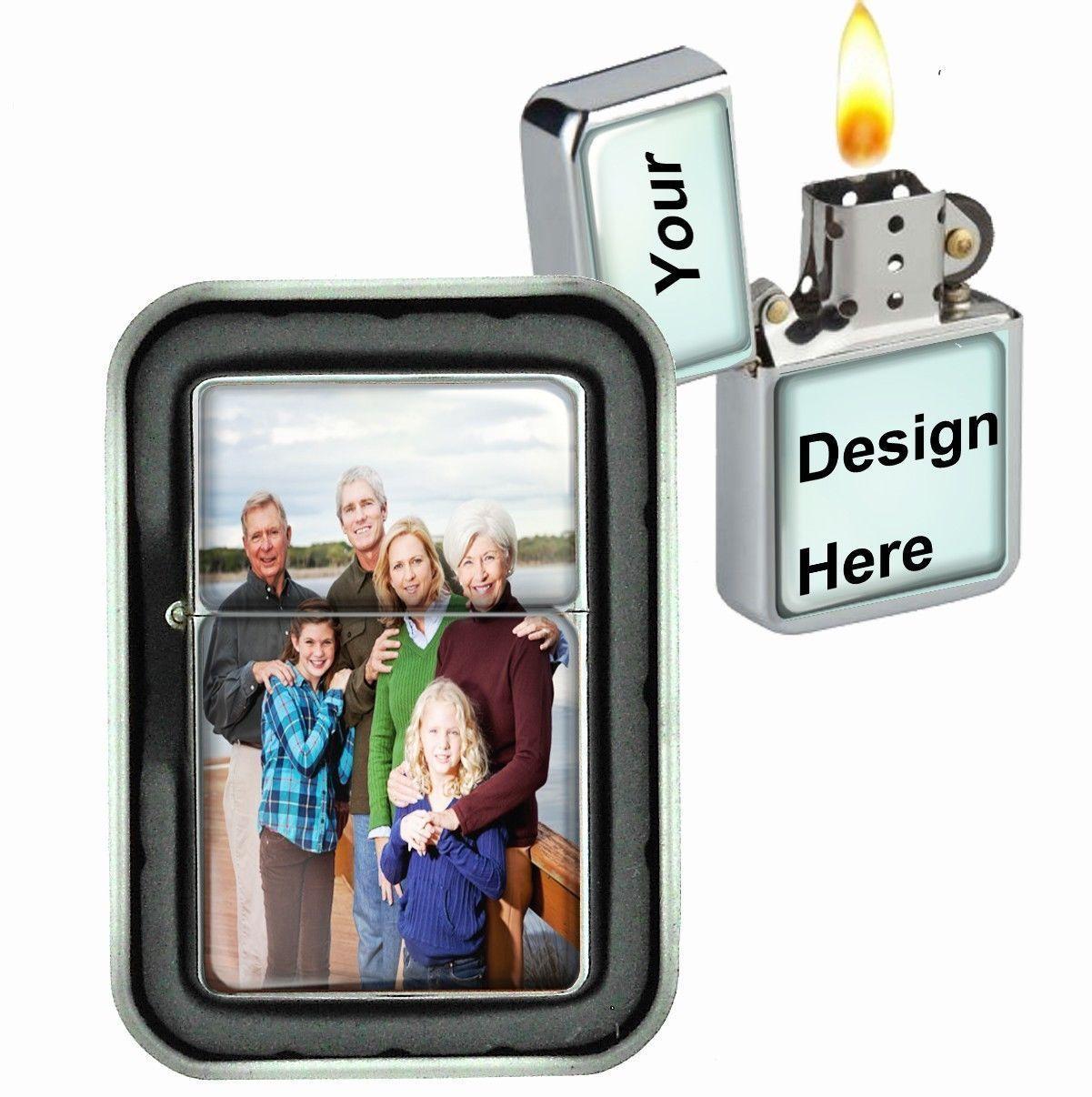 The High Priestess Tarot Windproof Refillable Oil Lighter with Gift Box Art D 23