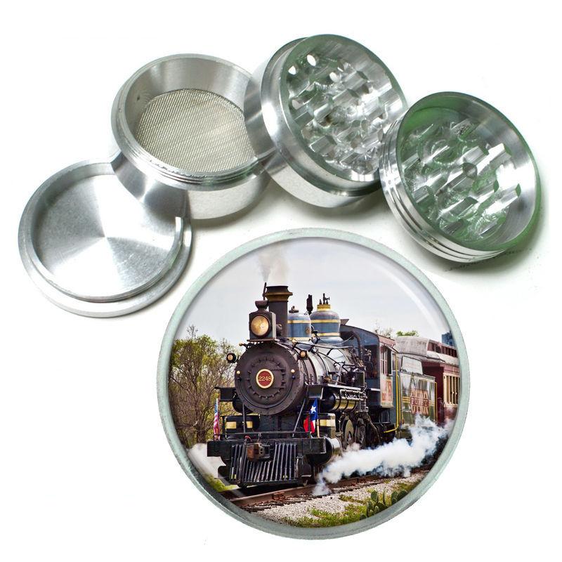 Trains Aluminum Grinder D4 63mm 4 Piece Locomotive Railroad Tracks Railways Choo