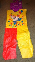 VINTAGE HOLLOWEEN CLOWN COSTUME HALLOWEEN COSTUME CHILD SIZE SMALL  5-6 ... - $14.80