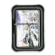 Windproof Oil Lighter Gift Box Navy D 05 U.S. Marine Corps Seals Special Forces - $5.89