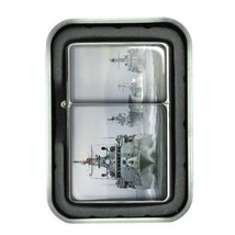 Windproof Oil Lighter Gift Box Navy D 06 U.S. Marine Corps Seals Special Forces - $5.89