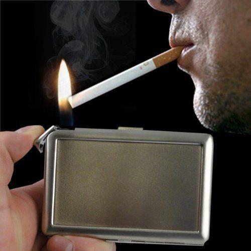 Vincent Van Gogh Sunflowers D 7 Cigarette Case Built in Lighter