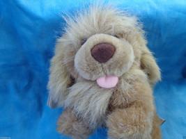 "The Heritage Collection Ganz 1989 Light Brown Shaggy Puppy Dog Plush 5 1/2"" - $2.48"
