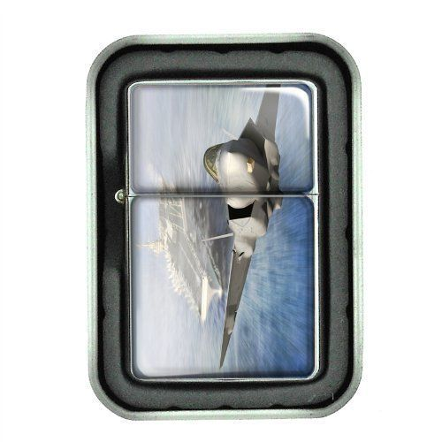Windproof Oil Lighter Gift Box Navy D 03 U.S. Marine Corps Seals Special Forces