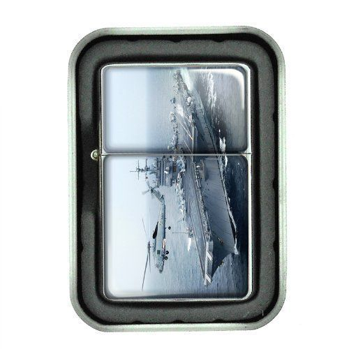 Windproof Oil Lighter Gift Box Navy D 02 U.S. Marine Corps Seals Special Forces